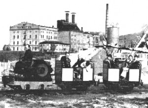 Der Anfang von Werners Gartenbahn in Löbau