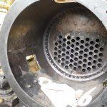 Kesselreparatur der Dampflok Krauss