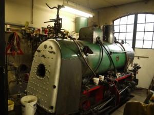 24-Dampfverteiler-Dampflok-Krauss-Werners Gartenbahn