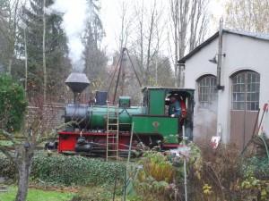 33-Warmdruckprobe-Dampflok-Krauss-Werners Gartenbahn